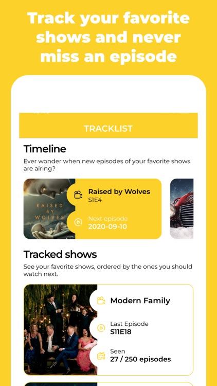 I've seen it – TV Tracking