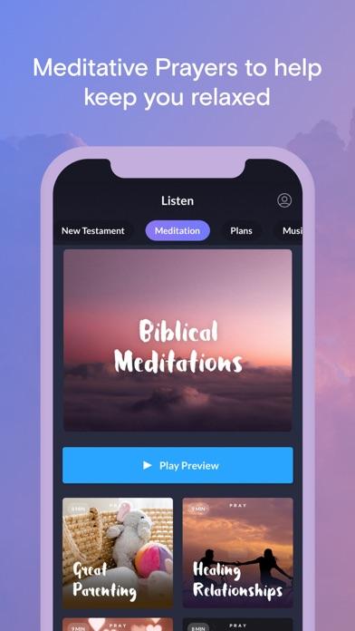 Pray.com Prayer, Sleep Bible Screenshot
