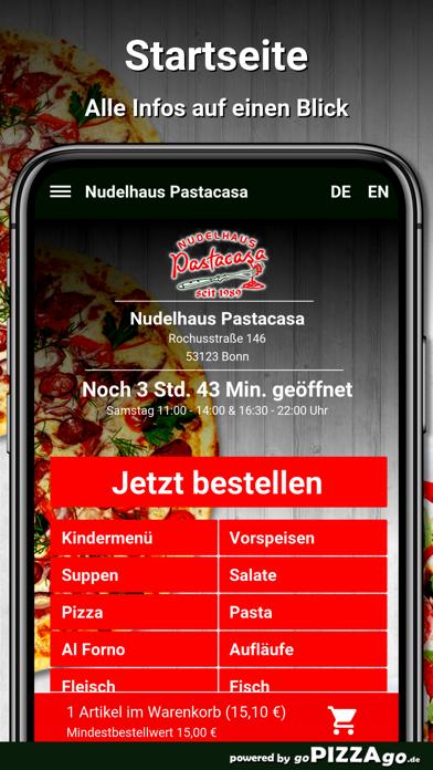 Nudelhaus Pastacasa Bonn screenshot 2
