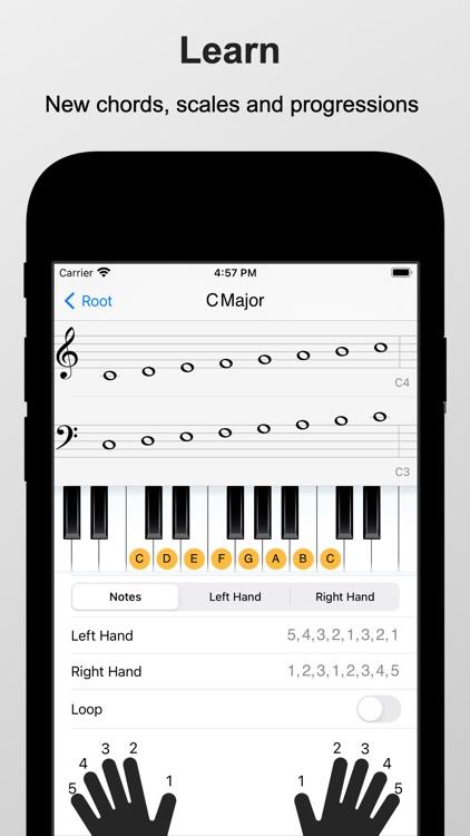 Piano Chords and Scales screenshot-3