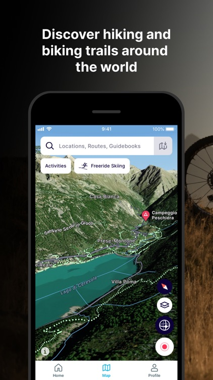 FATMAP: Ski, Hike, Bike Maps
