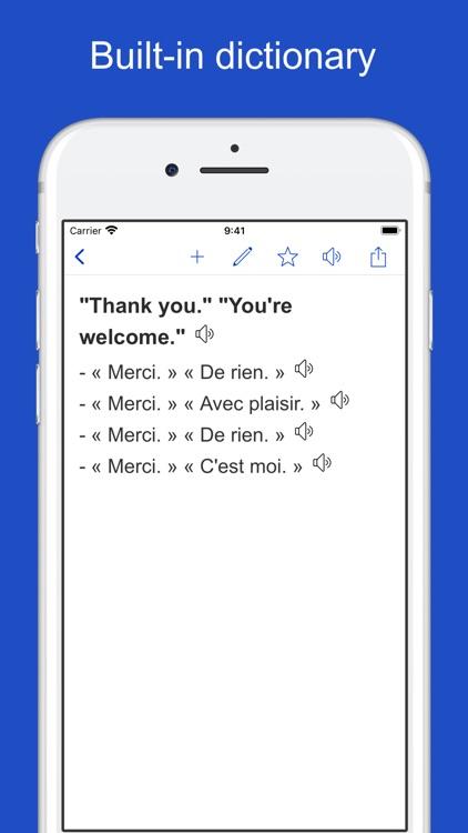 English French Sentences screenshot-4