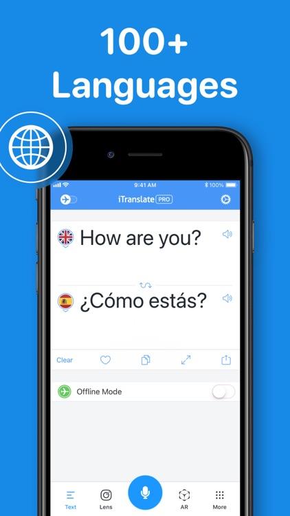 iTranslate Translator screenshot-0