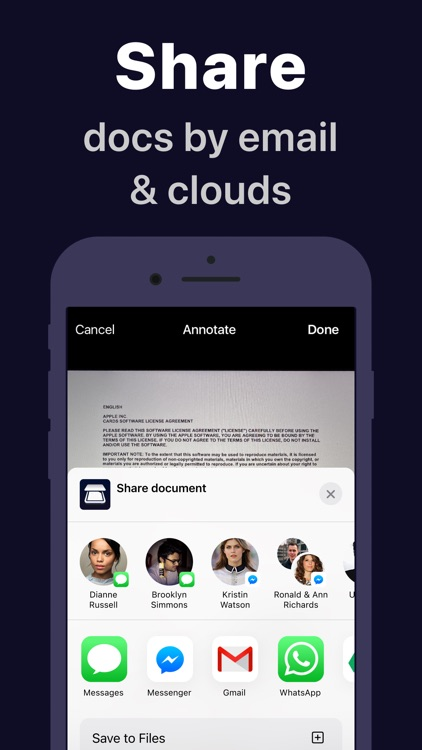 Scanner App: Docs Scan & Sign screenshot-5