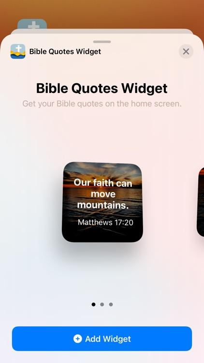 Bible Quotes Widget screenshot-3