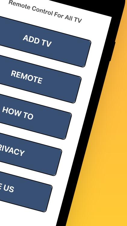 Tv Remote Control For Smart ®