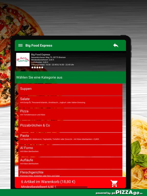 Big Food Express Bremen screenshot 8