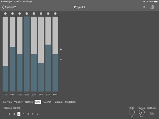 ArpBud 2 AUv3 MIDI Arpeggiator screenshot 7