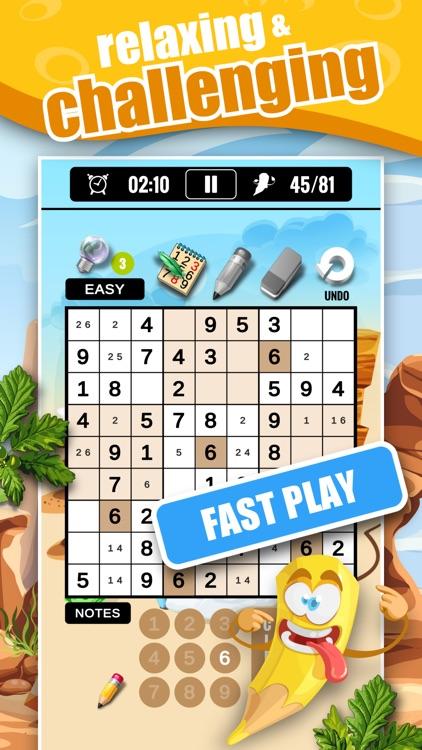 Sudoku Classic & Number Master screenshot-4