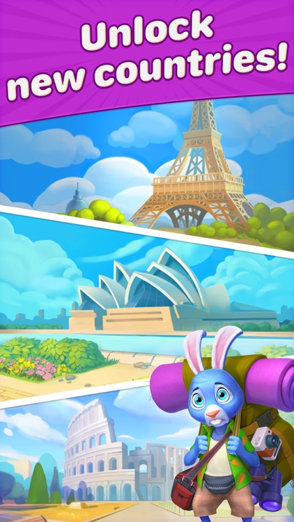 Travel Blast: Puzzle Adventure screenshot-6