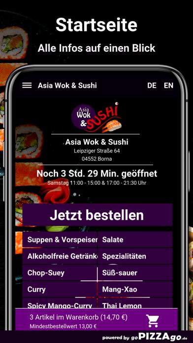 Asia Wok & Sushi Borna screenshot 2