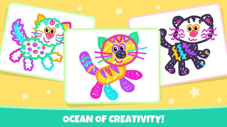 Drawing Pad Kids Toddler Games screenshot-6