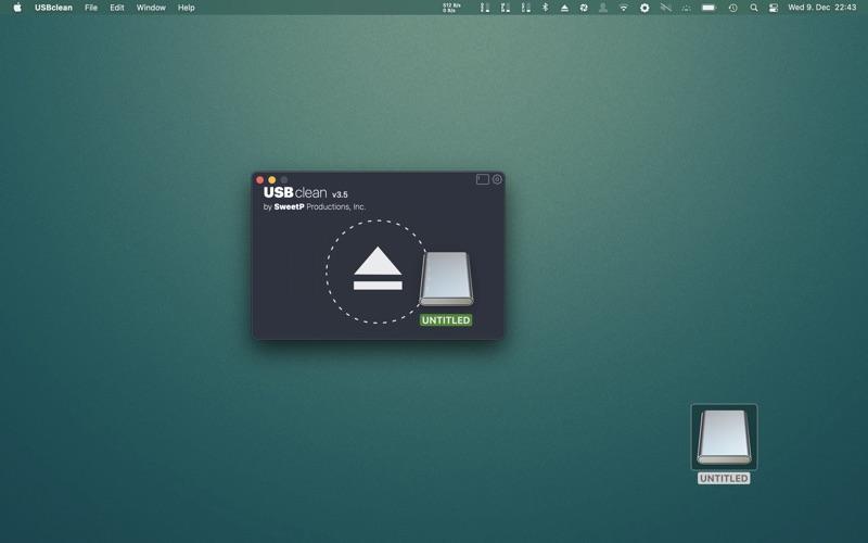 USBclean Screenshot