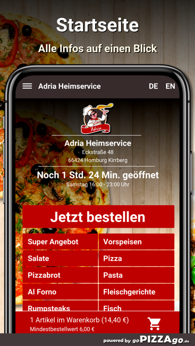 Adria Heimservice Homburg screenshot 2