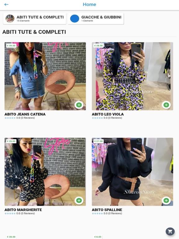 Sharon store screenshot 4