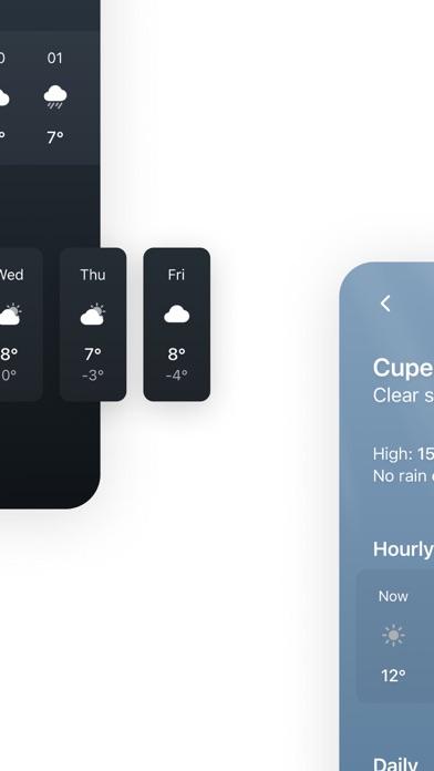 Tiny Weather: Simple forecastsのおすすめ画像4