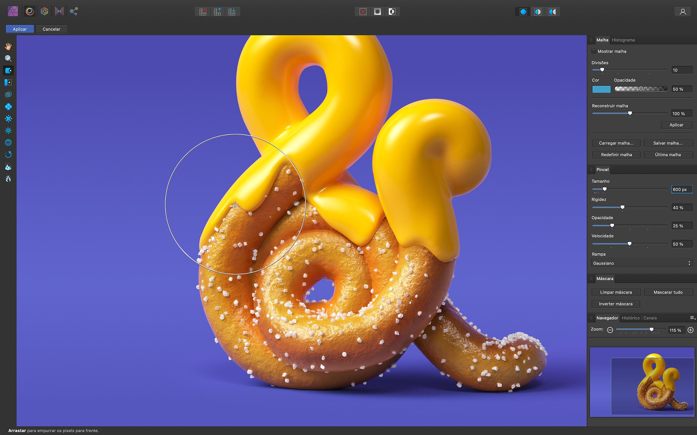 Screenshot do app Affinity Photo