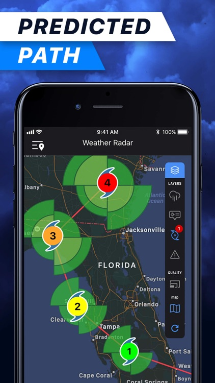 Weather Radar Pro°