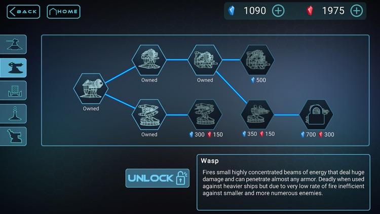 Neon Defenders Premium Defense screenshot-3