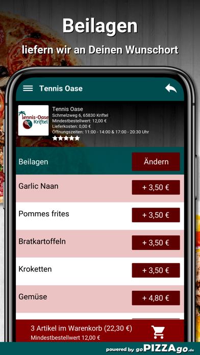 Tennis Oase Kriftel Pizza screenshot 6