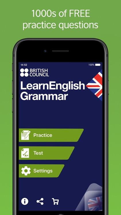 LearnEnglish Grammar (UK ed.) screenshot-0