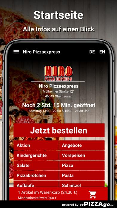 Niro Pizzaexpress Oberhausen screenshot 2