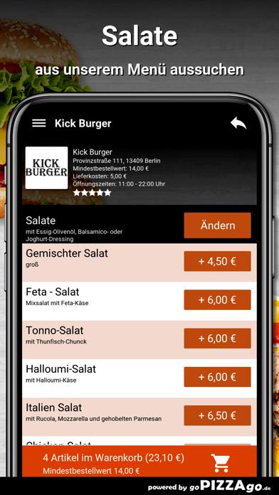 Kick Burger Berlin screenshot 5