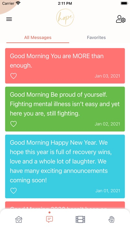 Message of Hope screenshot-5