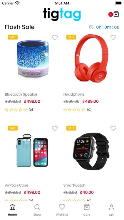 TIG-TAG Online Flash Sale