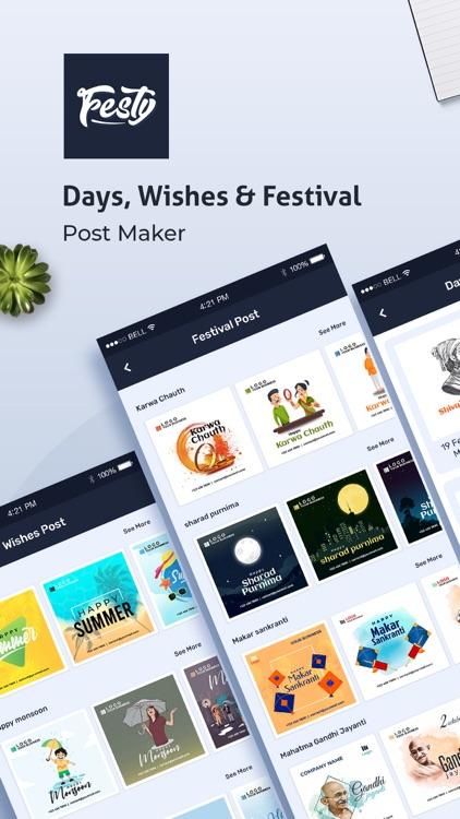 Festy - Festival Post Maker