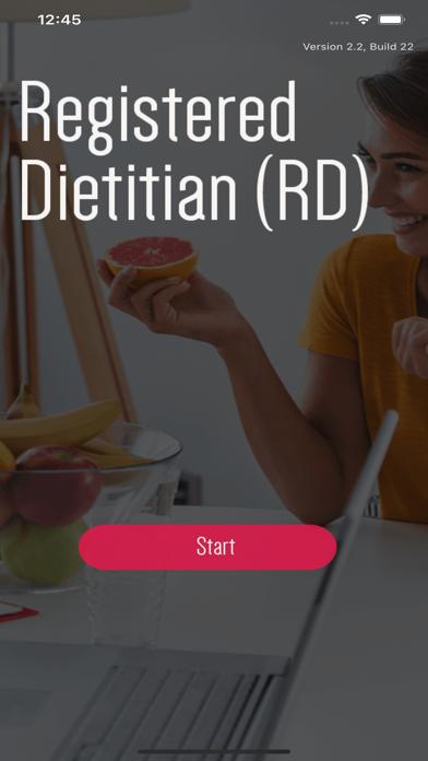Registered Dietitian Test screenshot 1