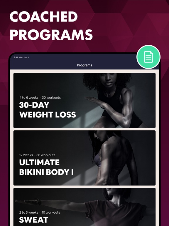 7 Minutes Workout - Women Fitness Exercise Trainer screenshot