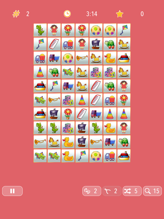 iPad Image of Onnect – Pair Matching Puzzle
