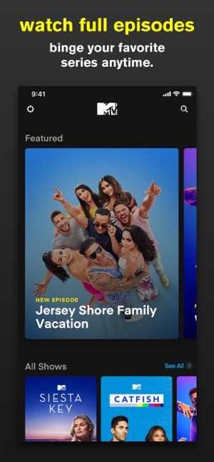 Mtv On The App Store
