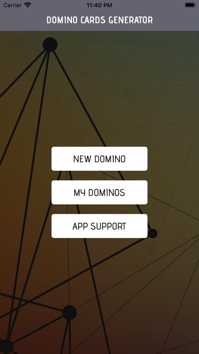 Domino Card Maker screenshot 1