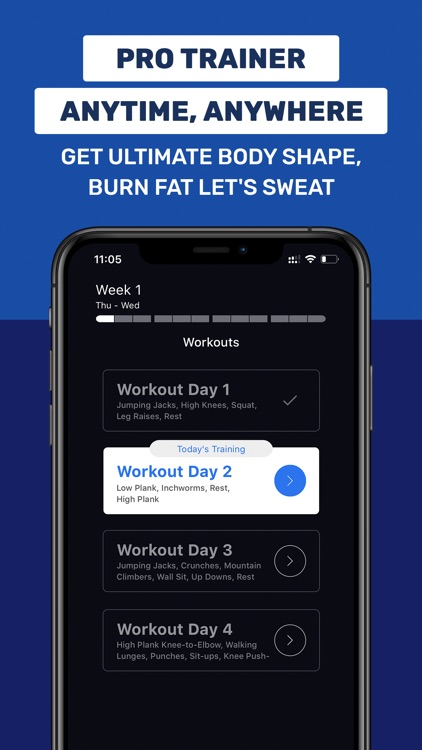 Daily Workout App by Fit5 screenshot-0