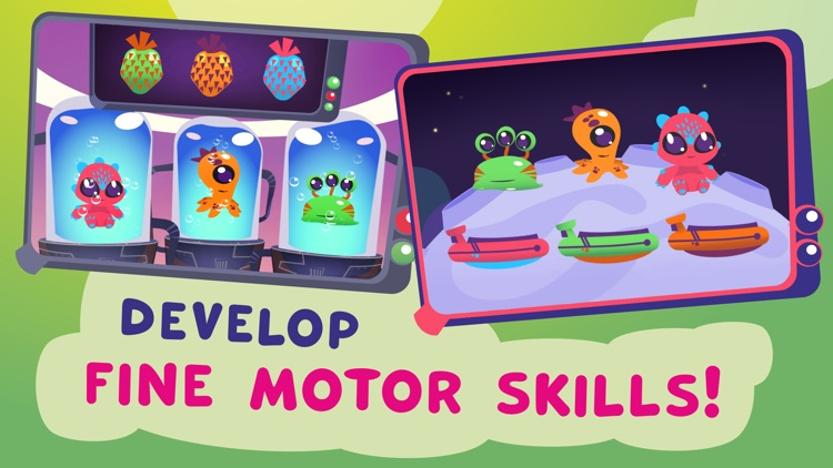 Aliens: games for toddlers. screenshot-3
