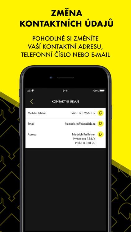 Raiffeisenbank Mobilní eKonto screenshot-3