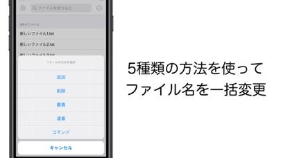 Renamer - ファイル名を一括変更 screenshot 1