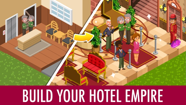Hotel Tycoon Empire: Idle Game