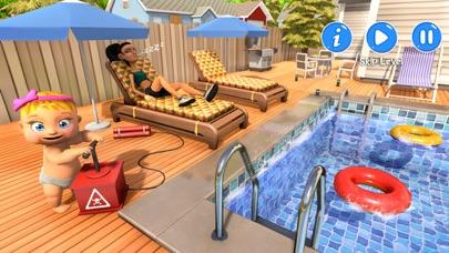 Newborn Baby Happy Family Game screenshot 3