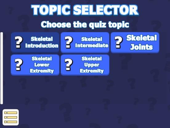 Skeletal System Quiz & Anatomy screenshot 6