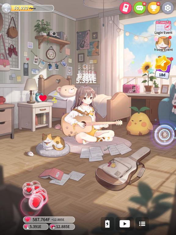 Guitar Girl:Relaxing MusicGame screenshot 11