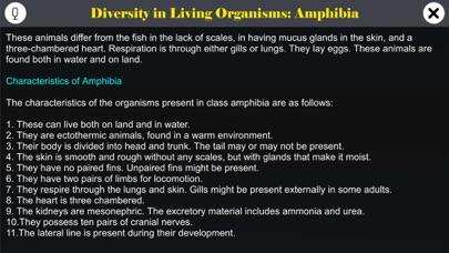 Diversity in Living: Amphibia screenshot 1