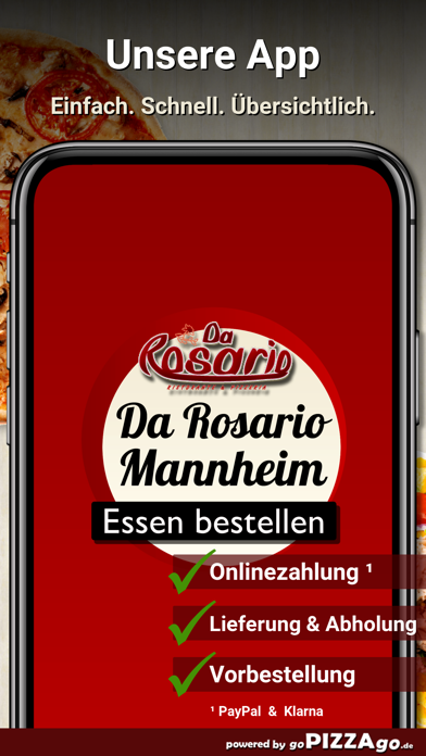 Da Rosario Mannheim screenshot 1