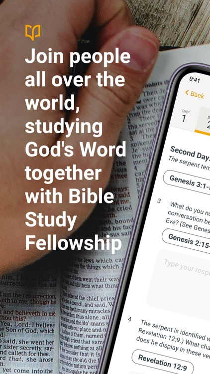 Bible Study Fellowship App