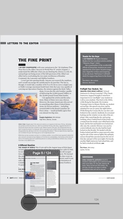 EAA Sport Aviation Magazine screenshot-3
