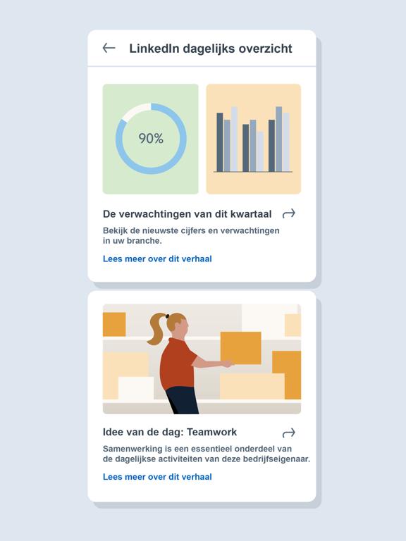 LinkedIn: Een baan zoeken iPad app afbeelding 8