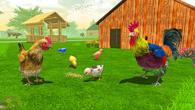 New Hen Simulator Chicken Farm
