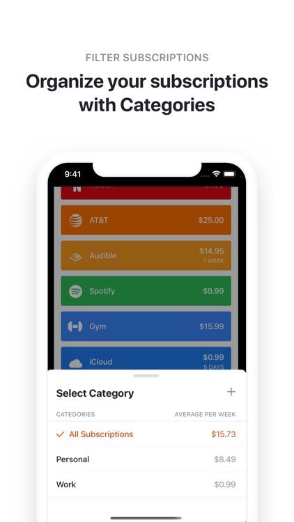 Bobby - Track subscriptions screenshot-3